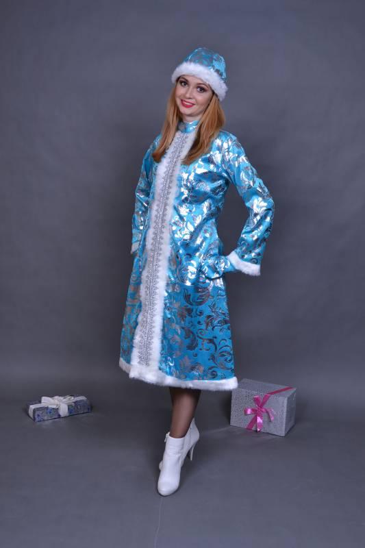 Карнавальный костюм Снегурочки.
